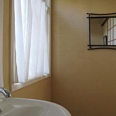 Asian Bathroom by Fitzgerald Studio