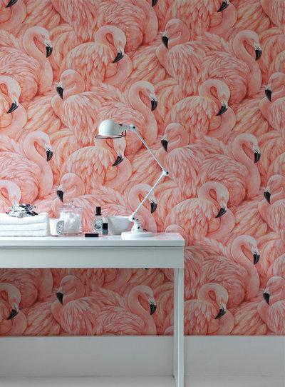 Eclectic Bathroom by Wallpaperdirect UK