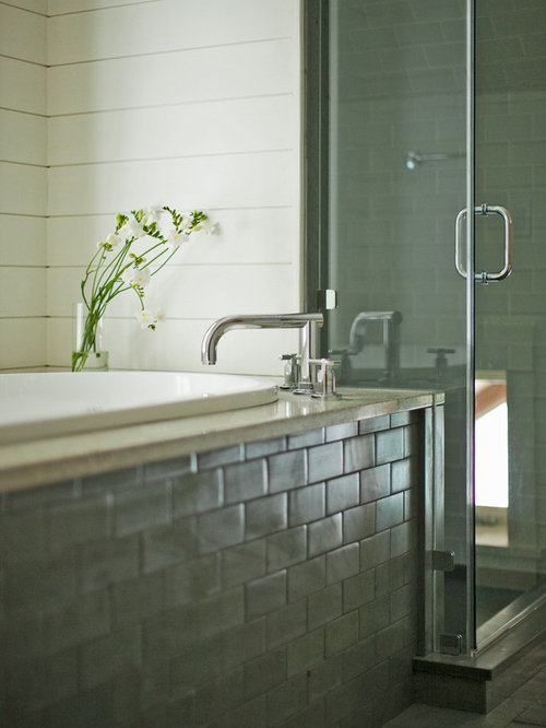 Tiled Tub Apron Home Design Ideas Pictures Remodel And Decor