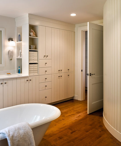 Farmhouse Bathroom by Whitten Architects