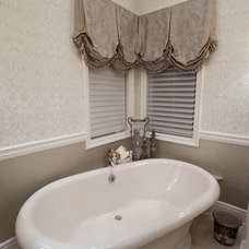 Traditional Bathroom by Linly Designs