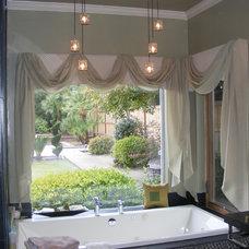 Eclectic Bathroom by Gaila Designs