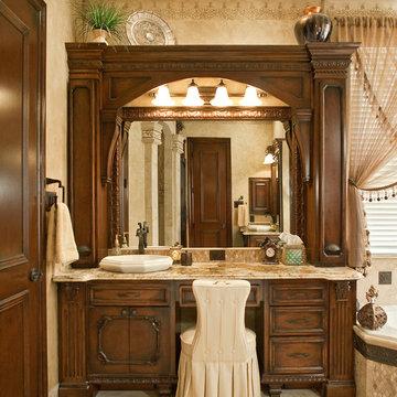 Bathroom with Elegant Warmth