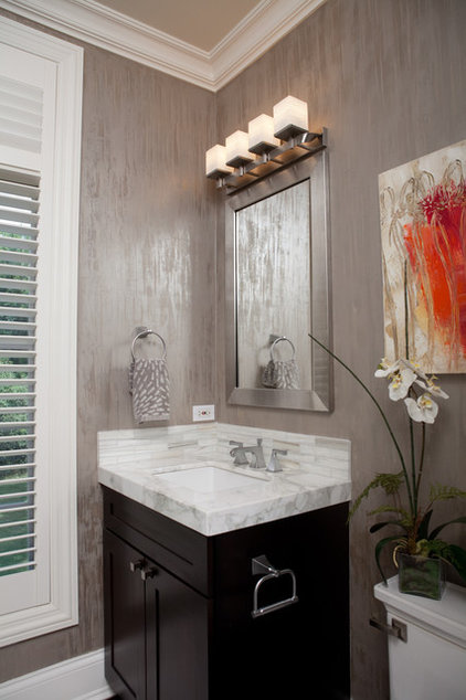 Contemporary Bathroom by Interior Enhancement Group, Inc.