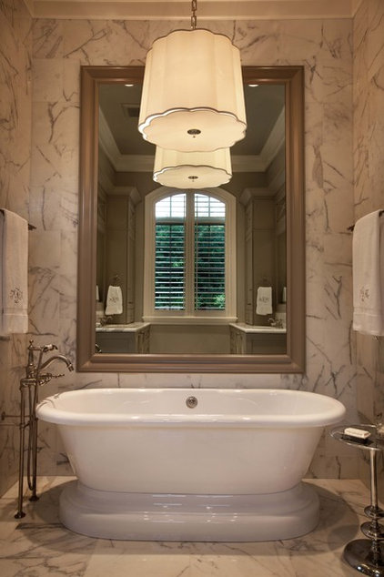 Eclectic Bathroom by Wolfe Rizor Interiors