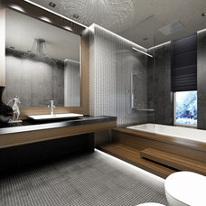 Modern Bathroom by Yasser Moustafa