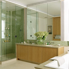 contemporary bathroom by ZMK Group, Inc