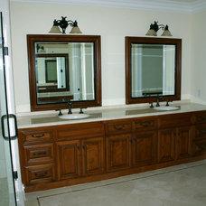 Traditional Bathroom by Garcia Cabinetmakers