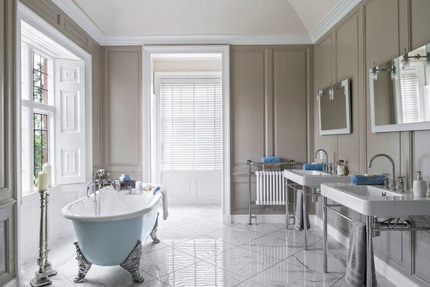 Traditional Bathroom by Jonathan Little Photography