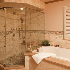 Traditional Bathroom by Abbey's Kitchens, Baths & Interiors,LLC