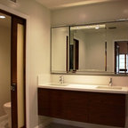 Sauna Rye Ny Contemporary Bathroom New York By