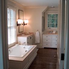 Traditional Bathroom by Advanced Renovations, Inc.