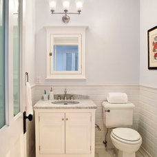 Traditional Bathroom by ADL III Architecture