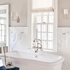 Traditional Bathroom by Alisberg Parker