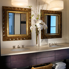 Modern Bathroom by Amy Noel Design