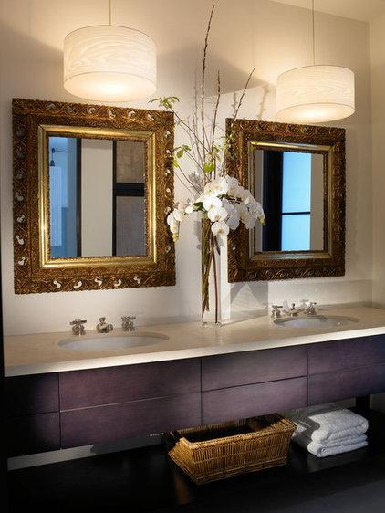 Modern Bathroom by Amy Noel Design