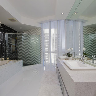 Bathrooms and kitchen
