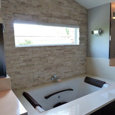 Contemporary Bathroom by NWC Construction
