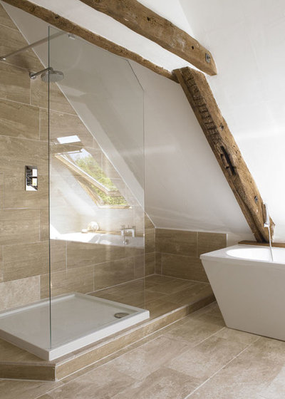 Our Favorite Floor Tile Options For A Stylish Bath Now - What's the best flooring for bathrooms