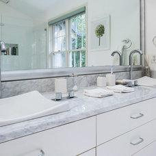 Contemporary Bathroom by Arbuckle Design Builders, LLC