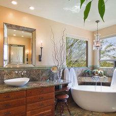 Modern Bathroom by Arizona Designs Kitchens and Baths