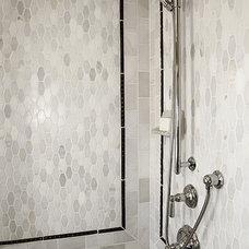 Contemporary Bathroom by Artsaics Studios