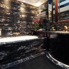 Traditional Bathroom by Bigelli Marmi
