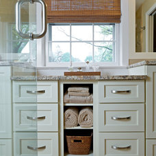 Transitional Bathroom by Blue Lotus Kitchen and Bath