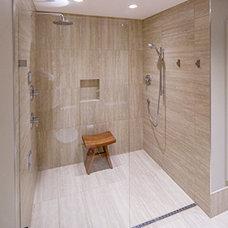 Contemporary Bathroom by Bond Tile & Stone