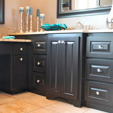 Traditional Bathroom by Richard Douglas Cabinets and Trim