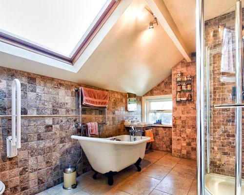 Family bathroom design ideas renovations photos with ceramic tiles - Steps achieve great family bathroom design ...