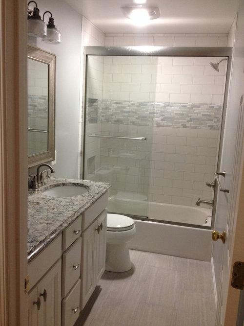 Bathroom Design Ideas Renovations Amp Photos With Gray Tile