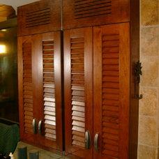 Tropical Bathroom by Broward Custom Kitchens, Inc.