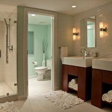 Modern Bathroom by Broward Custom Kitchens, Inc.