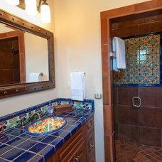 Mediterranean Bathroom by Butter Lutz Interiors, LLC