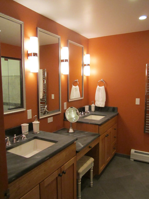 100+ Transitional Bathroom with Orange Walls Ideas: Explore ... on polished soapstone, dorado soapstone, mariana soapstone,