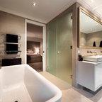 illawong contemporary bathroom sydney  fred tabet
