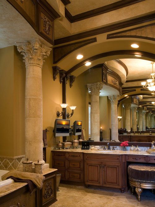 Old world cabinetry houzz - Change your old bathroom to traditional bathrooms ...