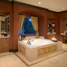 Traditional Bathroom by Olde World Cabinetry
