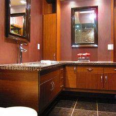 Contemporary Bathroom by Carriage Hill Construction