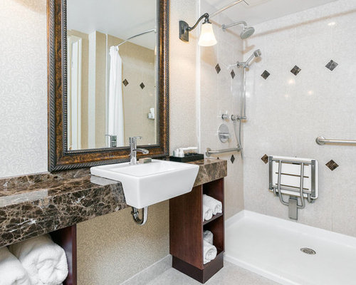 Handicap accessible bathroom designs houzz for Ada bathroom design plans