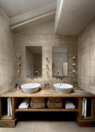 コンテンポラリー 浴室 by Ceragres