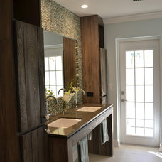 Rustic Bathroom by Chic on the Cheap