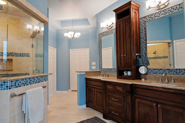 Contemporary Bathroom by Christopher Sandlin Homes & Remodeling
