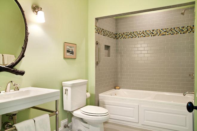 Traditional Bathroom by Cinder Creek Construction