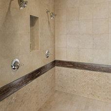 Traditional Bathroom by Circa TILE