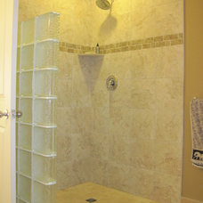 Traditional Bathroom by CJI Tile and Stone Ltd.