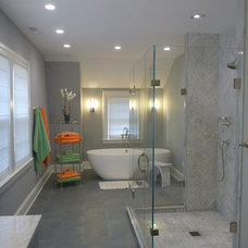 Contemporary Bathroom by Classic Construction Group