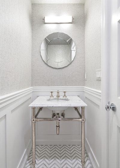 Nyklassisk Badeværelse by Clean Design