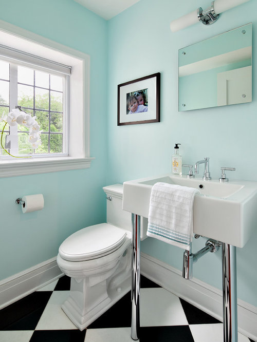 New York Bathroom Design Ideas Renovations Photos With Multi Coloured